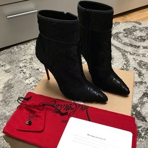 🖤SOLD🖤Christian Louboutin sequin boots 36/6